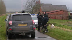 Illegal hare coursing